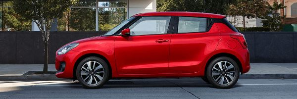 Great fuel economy, the stylish Swift is great fun to drive.
