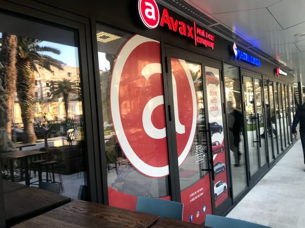 Car rental with Avax in Split Riva